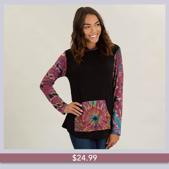Far Out Hooded Tunic - $24.99