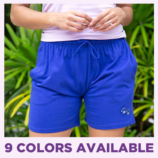 Purple Paw Women's Casual Shorts - 9 Colors Available