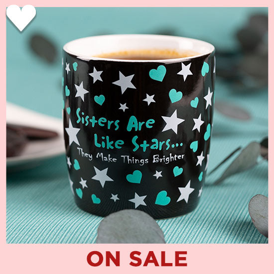 Sisters Are Like Stars Grande Mug - On Sale