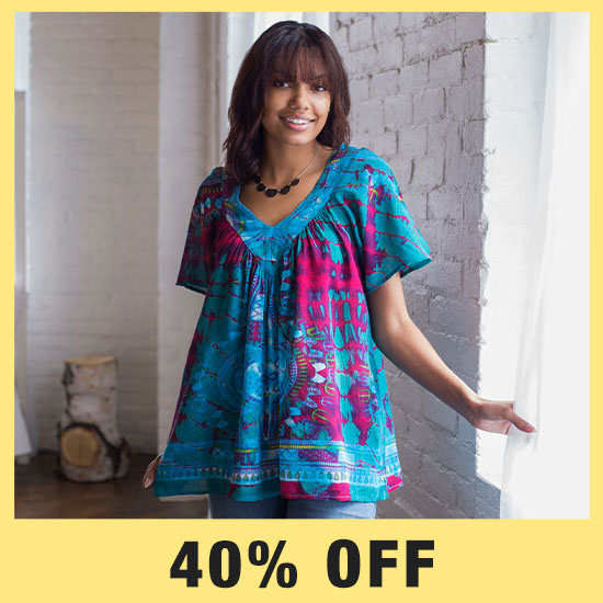 Tie-Dye Spirit Top - 40% OFF