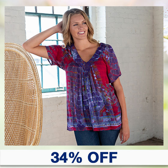 Tie-Dye Spirit Top - 34% OFF