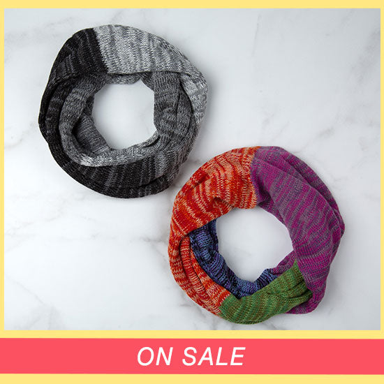 Alpaca Wool Infinity Scarf - On Sale