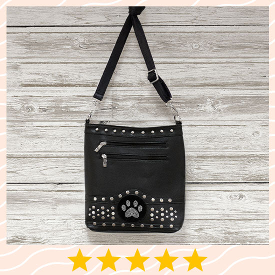 Midnight Bling Paw Purse - ★★★★★