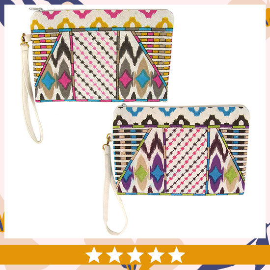 Tribal Printed Spring Clutch - ★★★★★