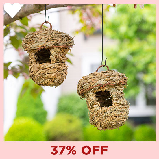 Roosting Pocket Birdhouses Set - 37% OFF