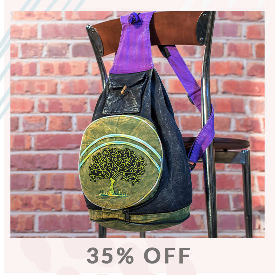 Tree of Life Backpack Purse - 35% OFF