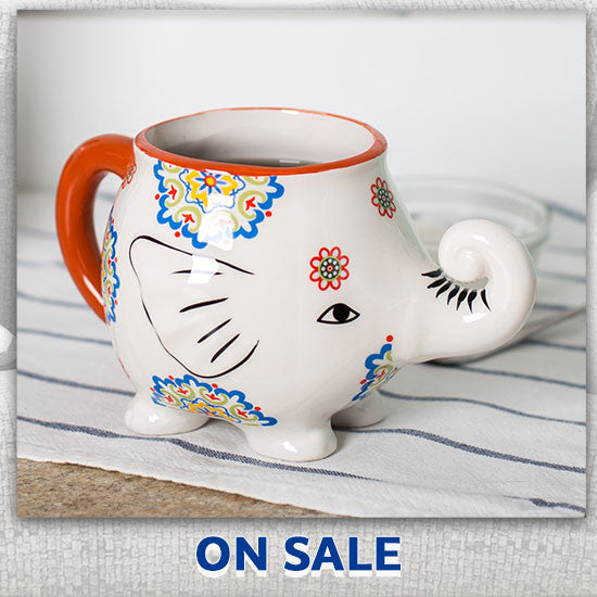 Cup of Joy Elephant Mug - On Sale