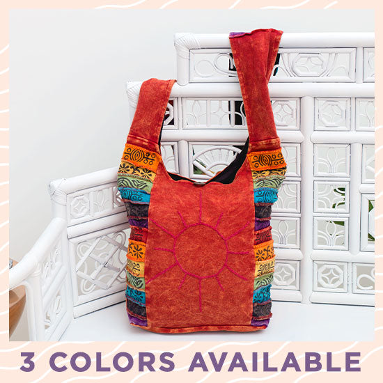 Sunshine Daydream Hobo Bag - 3 Colors Available