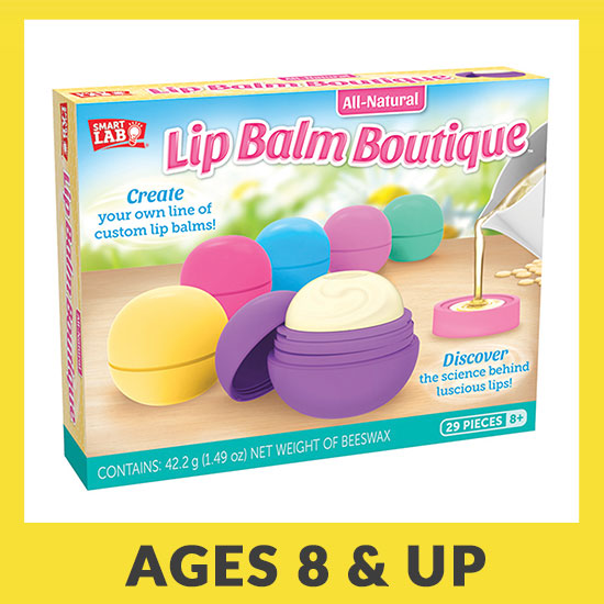 All-Natural Lip Balm Boutique - Ages 8 & Up