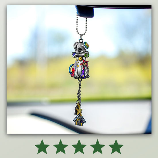 Kitty & Dog Car Charm - ★★★★★