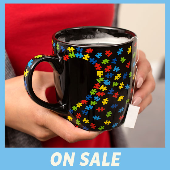 Piece of My Heart Autism Mug - On Sale