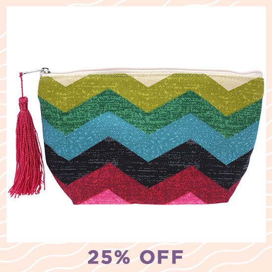 Clever Chevron Pouch - 25% OFF