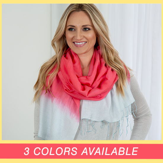 Color Connection Scarf - 3 Colors Available