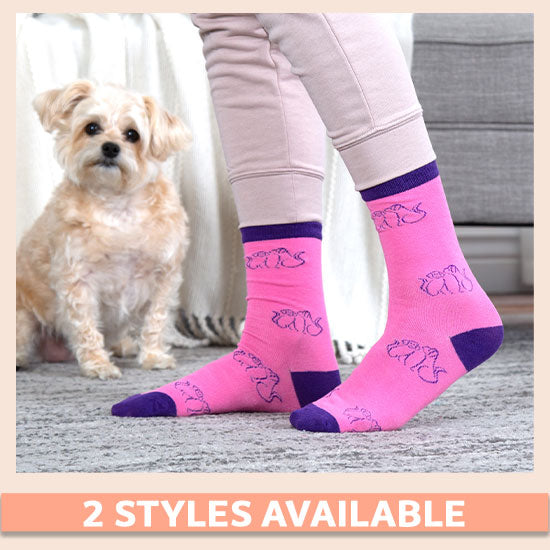 Cozy Pet Socks - Set of 3 - 2 Styles Available