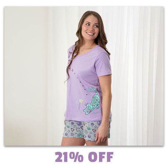 Smell the Flowers Pet Pajama Shorts Set - 21% OFF