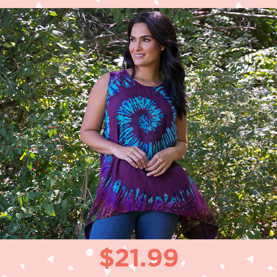 Endless Labyrinth Sleeveless Tunic - $21.99
