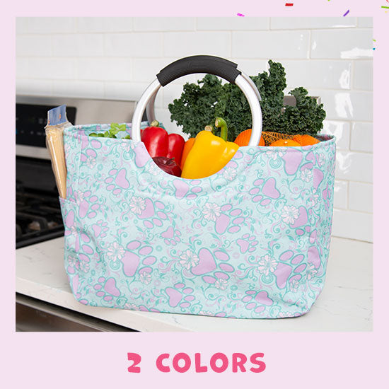 Paws Aplenty Insulated Shopping Bag - 2 Colors