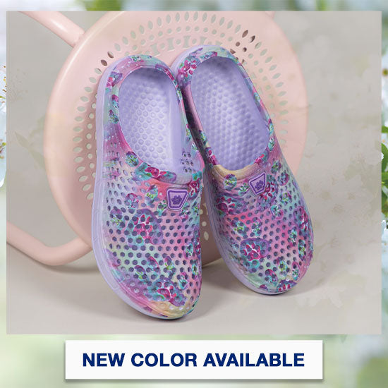 Rainbow Paw Clogs - New Color Available