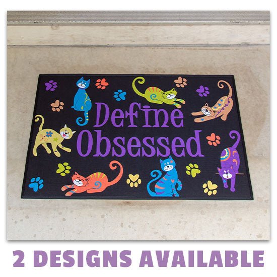 Define Obsessed Door Mat - 2 Designs Available