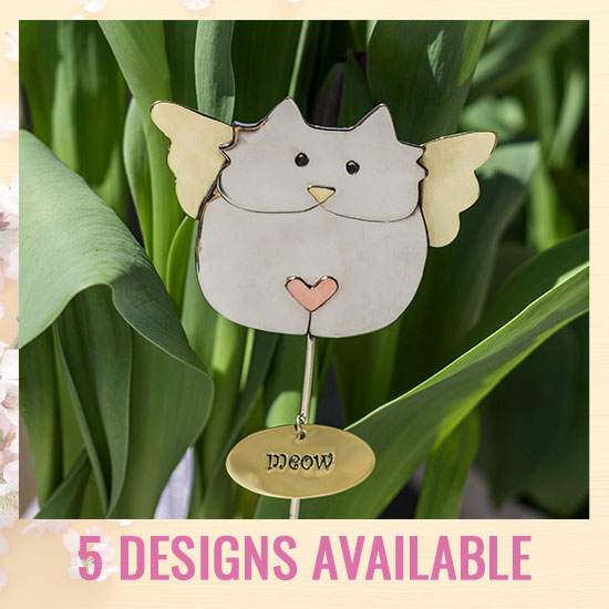 Decorative Animal Planter Stake - 5 Designs Available