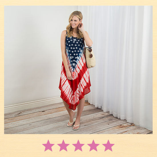 Old Glory Sleeveless Dress - ★★★★★