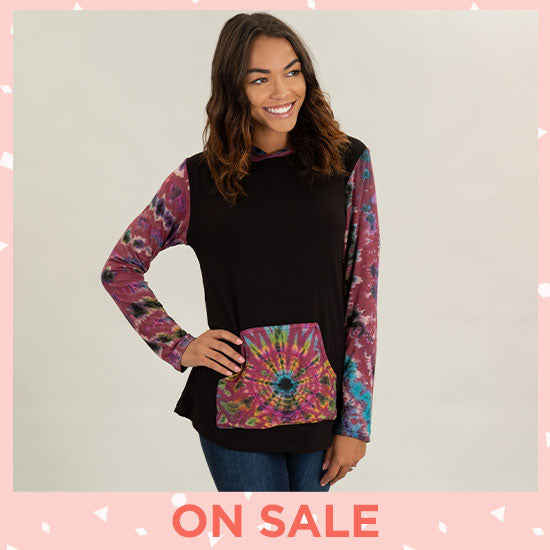 Far Out Hooded Tunic - On Sale