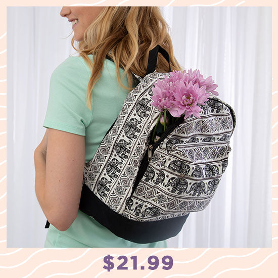 Elephant Parade Backpack - $21.99