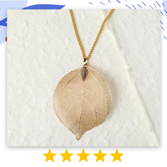 Lustrous Leaf Jewelry - ★★★★★