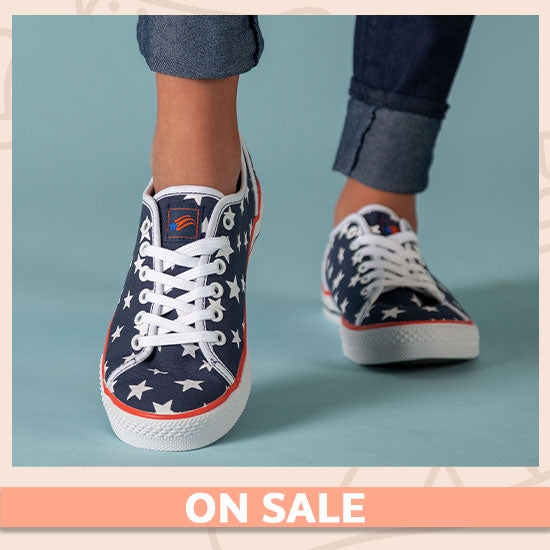 Star Spangled Sneakers - On Sale