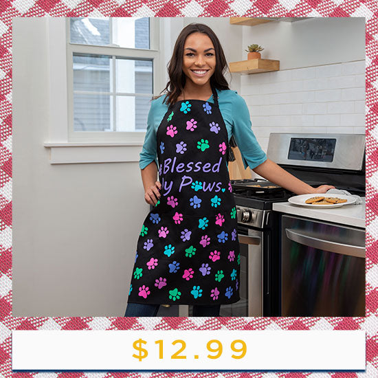 Blessed by Paws Apron - $12.99