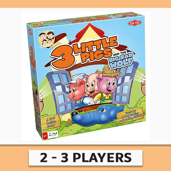Three Little Pigs Game - 2-3 Players