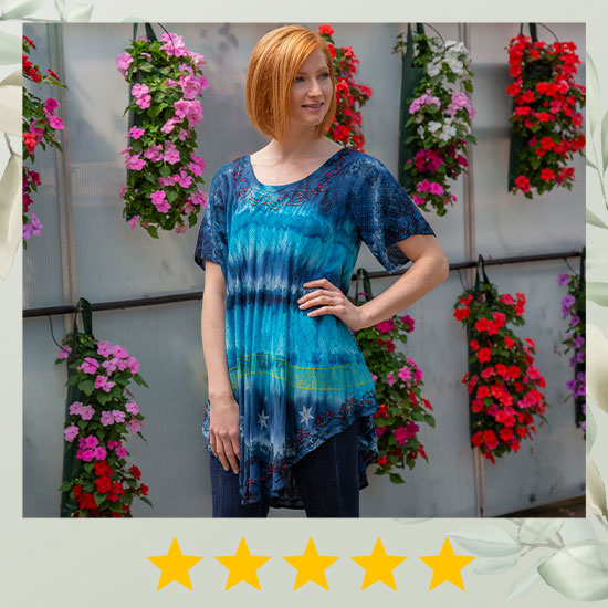 Starry Skyline Tunic - ★★★★★