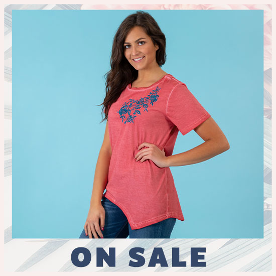 Coral Garden Tee - On Sale