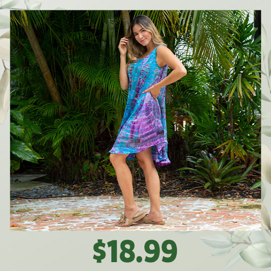 Tie-Dye Spirit Sleeveless Tunic - $18.99