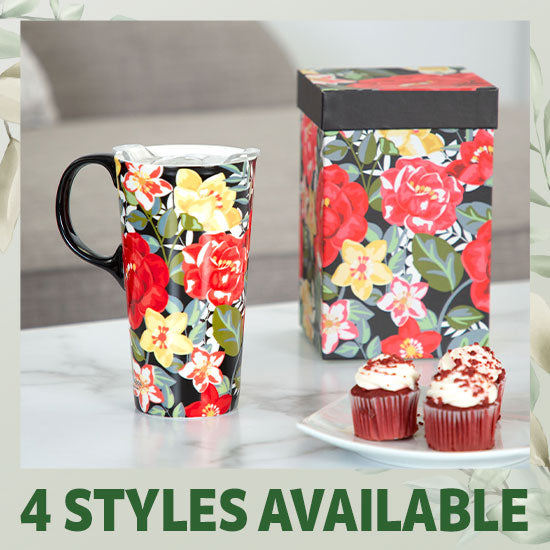Inspirational Gift Boxed Travel Mug - 4 Styles Available