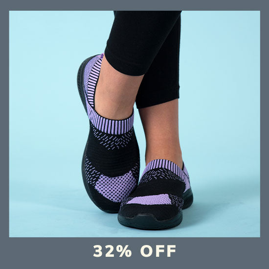 Purple Paw Ultralite™ Flex Shoes - 32% OFF