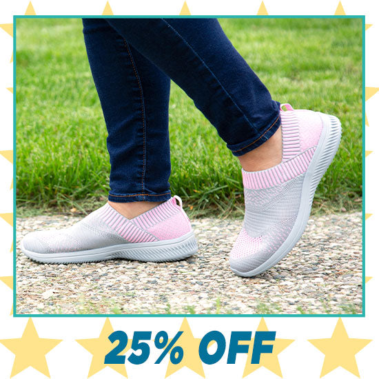 Pink Ribbon Ultralite™ Flex Shoes - 25% OFF