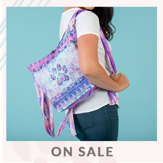 Cosmic Dreams Paw Print Convertible Backpack - On Sale