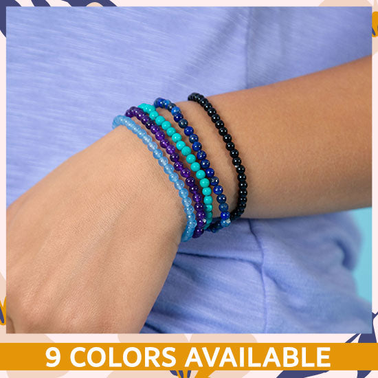 Quartz Energy Stone Bracelet - 9 Colors Available