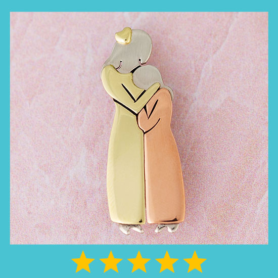 Mother & Daughter Pin - ★★★★★