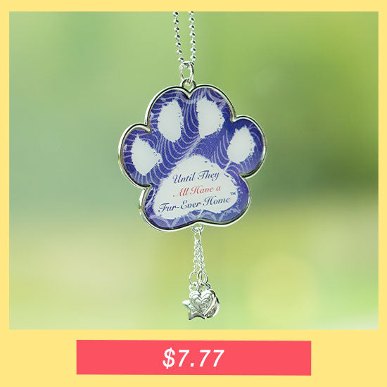 Until They All Have a Fur-Ever Home™ Car Charm - $7.77