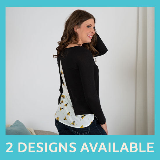 Garden Friends Vent Back Sweater - 2 Designs Available