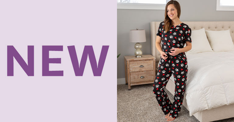 Paws & Hearts Soft Touch Pajamas | New!