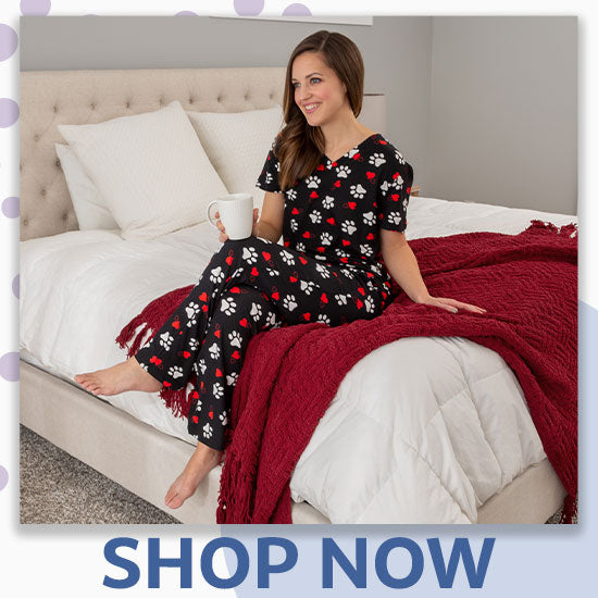 Paws & Hearts Soft Touch Pajamas - Shop Now