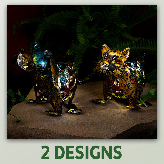 Precious Pet Metal Solar Light - 2 Designs