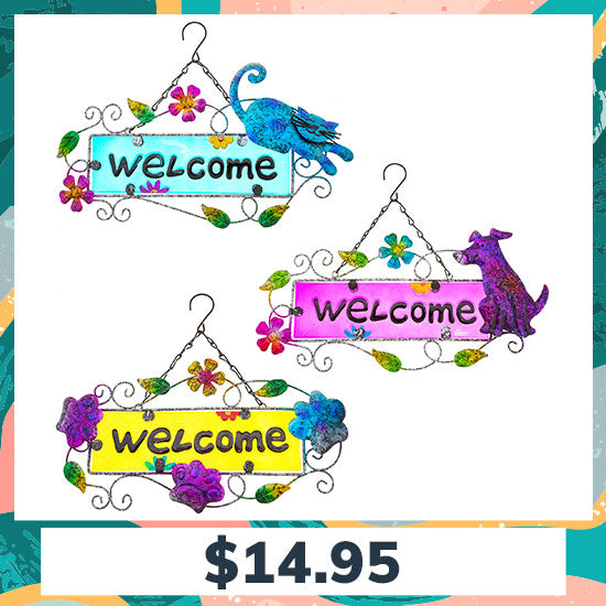 Pawsitively Adorable Outdoor Welcome Sign - $14.95