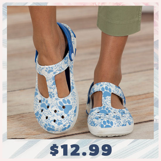 Pawsitively Adorable Mary Jane Clogs - $12.99