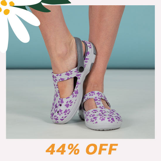 Pawsitively Adorable Mary Jane Clogs - 44% OFF