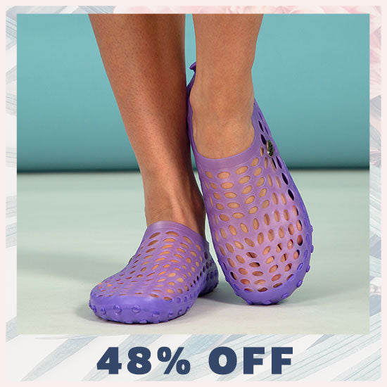 Paw Print Breezy Casual Beach Water Shoes - 48% OFF