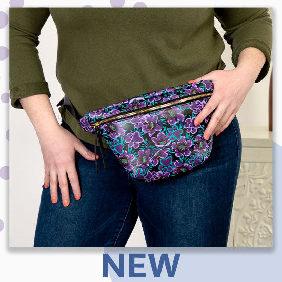 Midnight Floral Paw Print Collection - New